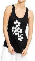 Old Navy Women's Two-Tone Graphic Tanks