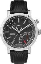 Timex Men's Metropolitan Plus TW2P81700ZL Dial and Leather Strap Watch