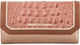 Brahmin Sandshell Varadero Soft Checkbook Wallet