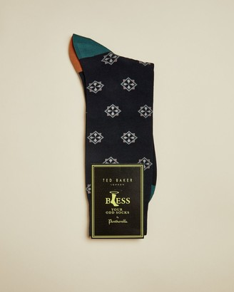 Ted Baker Geo Cotton Socks