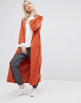 NATIVE YOUTH Lightweight Longline Duster Jacket