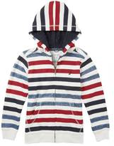 Nautica Little Boys' Multistripe Fleece Hoodie (2T-7)