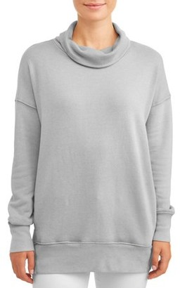 Time and Tru Women's Cowl Neck Tunic