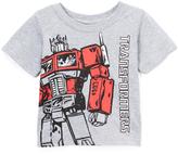 Freeze Heather Gray 'TRANSFORMERS' Optimus Prime Crewneck Tee - Toddler