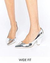 Asos SAPPHIRE Wide Fit Pointed Heels