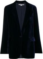 Stella McCartney velvet button blazer