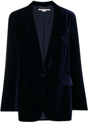Stella McCartney Velvet Button Blazer