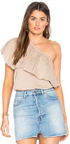 De Lacy Fiona Top in Nude. - size L (also in M,S,XS)
