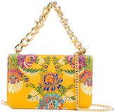 Emanuela Caruso floral shoulder bag