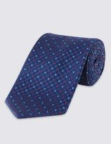 Marks And Spencer Micro Spotted Textured Tie