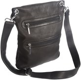 Margot Double-Zip Crossbody Bag - Leather (For Women)