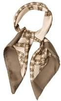 Burberry Chain-Link Silk Scarf