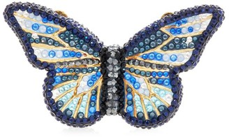 Judith Leiber Crystal Butterfly Pillbox