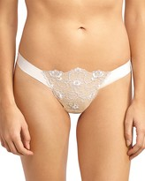 Commando Crown Embroidered Thong