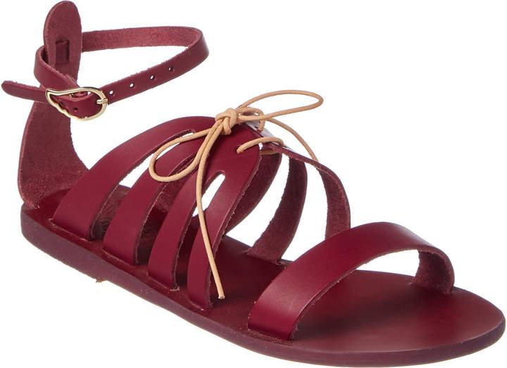 Ancient Greek Sandals Iphigenia Leather Sandal