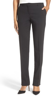 HUGO BOSS Tamea Tropical Stretch Wool Trousers