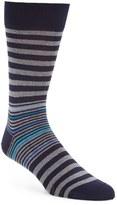 Bugatchi Men's 'Donegal' Stripe Socks