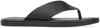 Vince Dean Leather Flat Thong Sandals