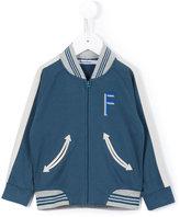 Familiar zipped bomber jacket - kids - Cotton - 2 yrs