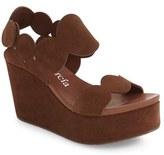 Pedro Garcia Women's Dyane Platform Wedge Sandal