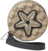 MICHAEL Michael Kors Patches 1 Pt Star Small Coin Purse