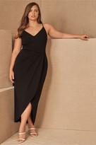 Thumbnail for your product : BHLDN Caron V-Neck Crepe Dress