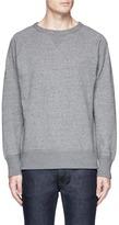 Rag & Bone 'Racer' slub cotton French terry sweatshirt
