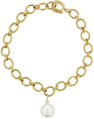 Irene Neuwirth Pearl Charm Bracelet - Yellow Gold