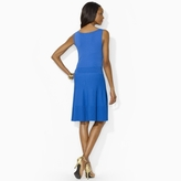 Ralph Lauren Pintucked Sleeveless Dress