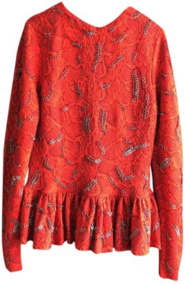 Chloé Red Wool Top for Women