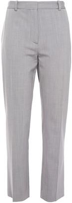 Joseph Zoom Cropped Wool-blend Twill Slim-leg Pants
