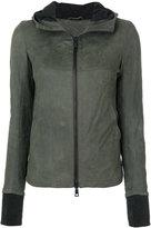 Giorgio Brato slim-fit hooded jacket