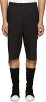 Alexandre Plokhov Black Drawstring Shorts