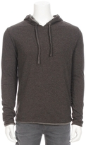 Crossley Cashmere Blend Reversible Hoodie