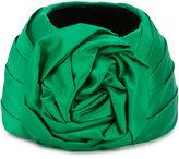 Gucci knotted bow headband - women - Wool/Silk - S