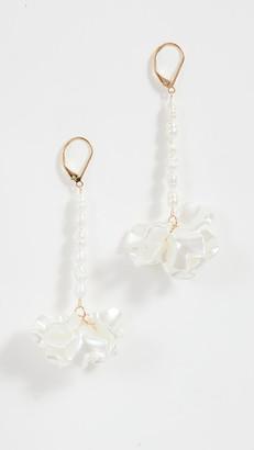Shashi Blanc Jardin Earrings
