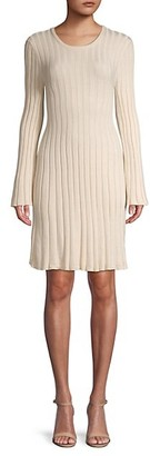 BCBGeneration Rib-Knit Sweater Dress