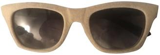 Italia Independent Beige Other Sunglasses