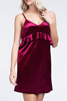 Honeybelle honey belle Burgundy Velvet Dress