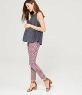 LOFT Petite Maternity Petalwork Essential Skinny Ankle Pants