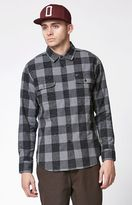 Obey Drifter Plaid Long Sleeve Button Up Shirt