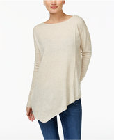 INC International Concepts Asymmetrical Tunic Sweater, Only at Macy's