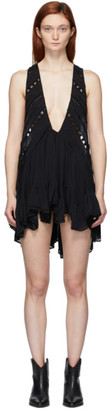Isabel Marant Black Lacre Dress
