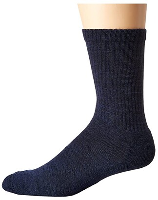 Smartwool Heathered Rib (Charcoal) Men's Crew Cut Socks Shoes