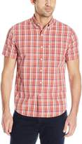 Levi's Men's Short Sleeves Classic One Pocket Plaid