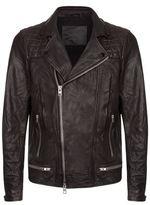 Allsaints Allsaints Conroy Leather Biker Jacket