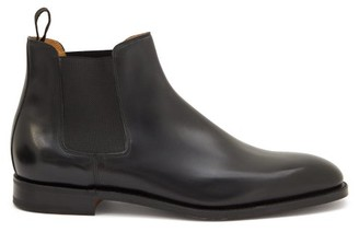 John Lobb Lawry Leather Chelsea Boots - Black