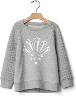 Gap Hero quilted-sleeve pullover
