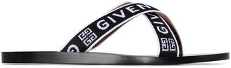 Givenchy Logo-Strap Flat Sandals
