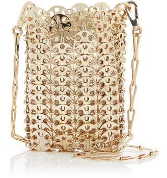 Paco Rabanne 1969 Mini Gold-Tone Chainmail Bag
